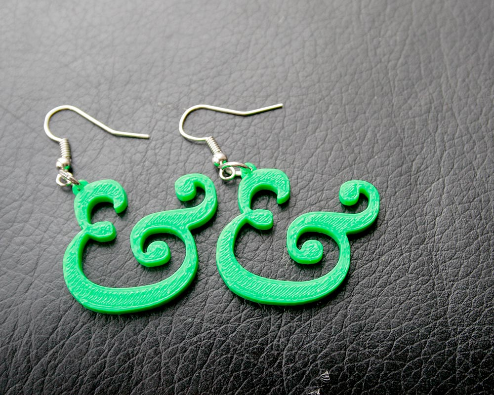 Ampersand Earrings Pic_1