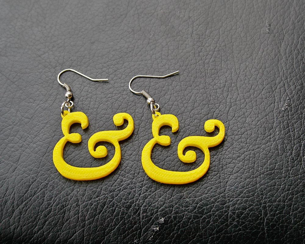 Ampersand Earrings Pic_2
