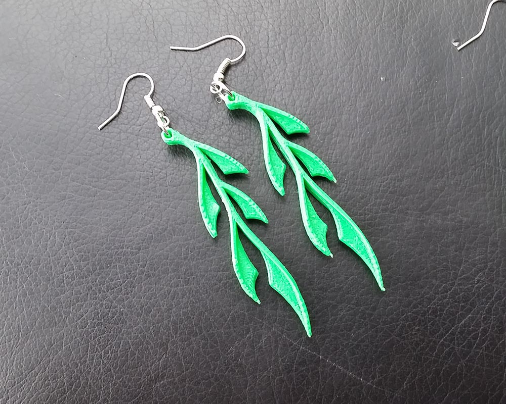 Leafy Earrings Pic_2